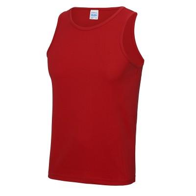 T-Shirt Cool Vest colore fire red taglia S