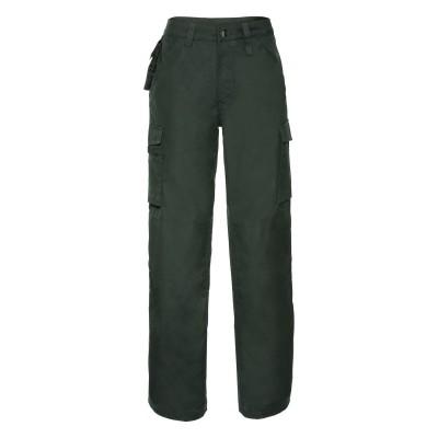 Pantaloni Adults' Heavy Duty Trousers colore bottle green taglia 44/38