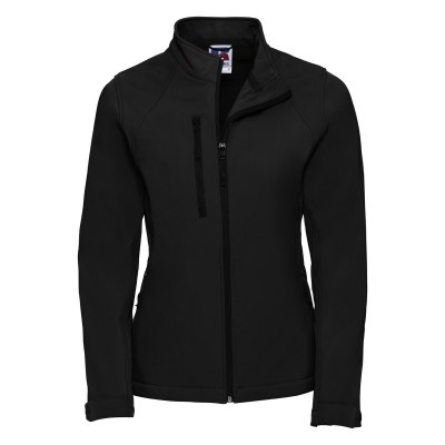 Soft shell Ladies' Softshell Jacket colore black taglia XS