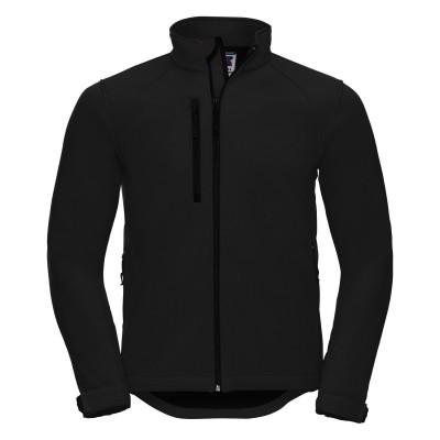 Soft shell Men's Softshell Jacket colore black taglia XS