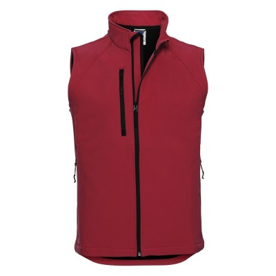 Soft shell Men's Softshell Gilet colore classic red taglia XS