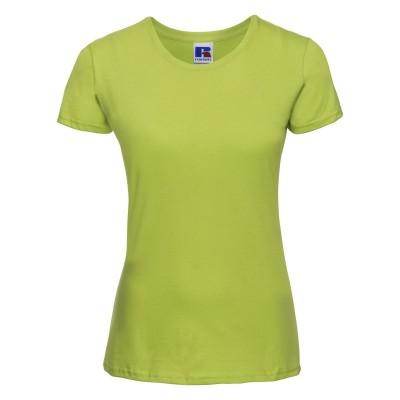 T-Shirt Ladies' Slim T colore lime taglia XS