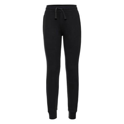 Pantaloni Ladies' Authentic Cuffed Jog Pants colore black taglia XS