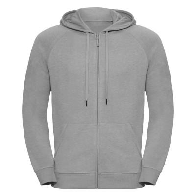 Felpe Men's HD Zipped Hood Sweat colore silver marl taglia XS