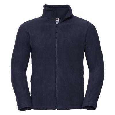 Pile Men's Full Zip Outdoor Fleece colore french navy taglia S