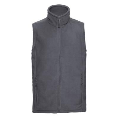 Pile Men's Outdoor Fleece Gilet colore convoy grey taglia S