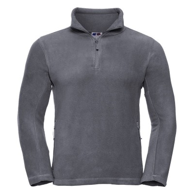 Pile Adults' Quarter Zip Outdoor Fleece colore convoy grey taglia S