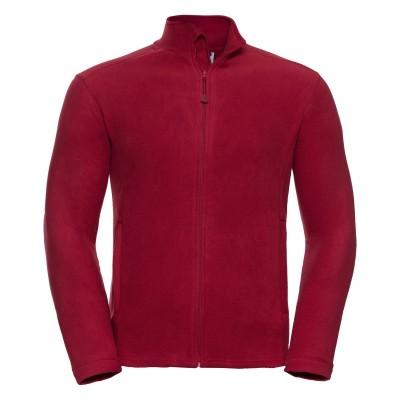 Pile Men's Full Zip Microfleece colore classic red taglia S