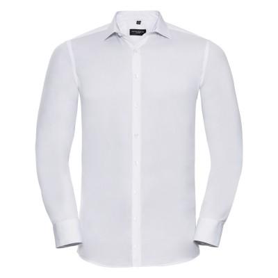 Camicie Men's Long Sleeve Ultimate Stretch colore white taglia S