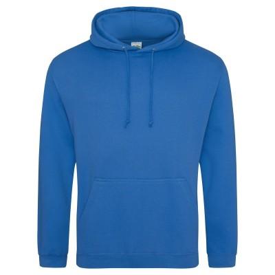 Felpe College Hoodie colore sapphire blue taglia XS