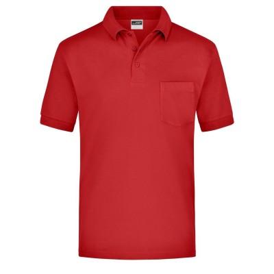 Polo Polo Piqué Pocket colore red taglia S