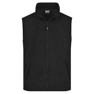 Pile Fleece Vest colore black taglia S