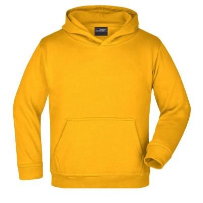 Felpe Hooded Sweat Junior colore gold-yellow taglia XS