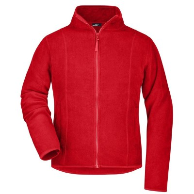 Pile Girly Microfleece Jacket colore red taglia S
