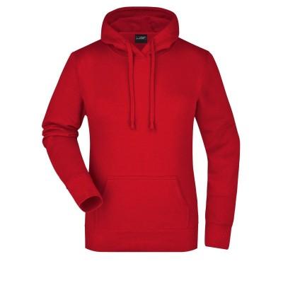 Felpe Ladies' Hooded Sweat colore red taglia S