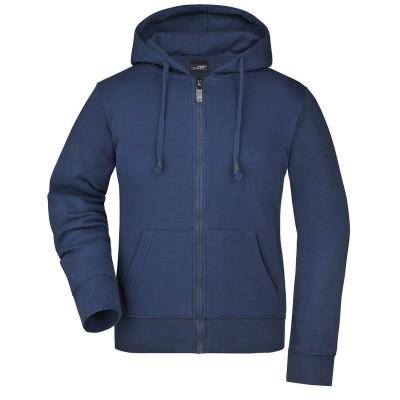 Felpe Ladies' Hooded Jacket colore navy taglia S