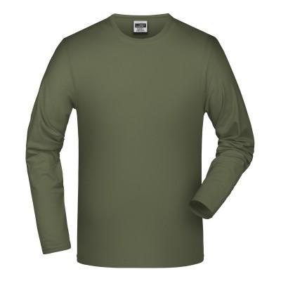 T-Shirt Elastic-T colore olive taglia S