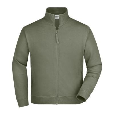 Felpe Sweat Jacket colore olive taglia S