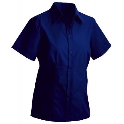 Camicie Ladies' Blouse Short colore navy taglia S