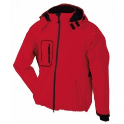 Soft shell Men's Winter Softshell Jacket colore red taglia S