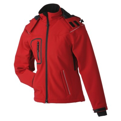Soft shell Ladies' Winter Softshell Jacket colore red taglia S