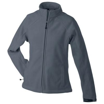 Soft shell Ladies' Bonded Fleece Jacket colore carbon/black taglia S