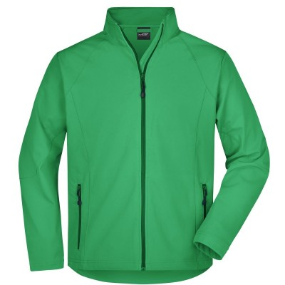 Soft shell Men's Softshell Jacket colore green taglia S