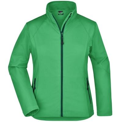 Soft shell Ladies' Softshell Jacket colore green taglia S