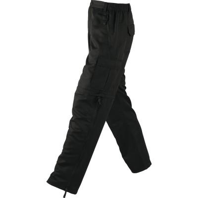 Pantaloni Men's Zip-Off Pants colore black taglia S