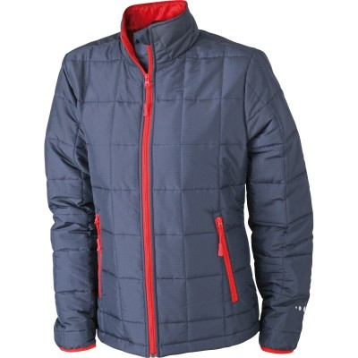 Giacche Ladies' Padded Light Weight Jacket colore navy/red taglia S