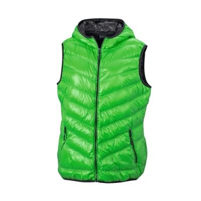 Giacche Ladies' Down Vest colore green/carbon taglia S