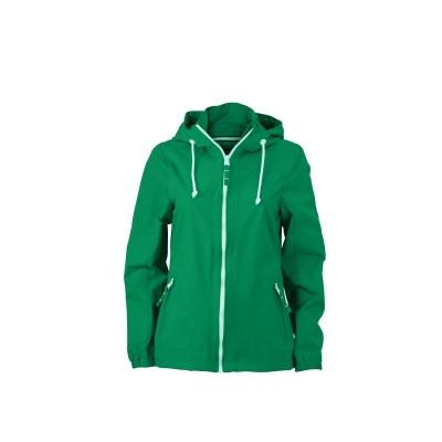 Giacche Ladies' Sailing Jacket colore irish-green/white taglia S