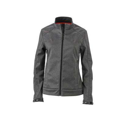 Soft shell Ladies' Softshell Jacket colore dark-melange taglia S