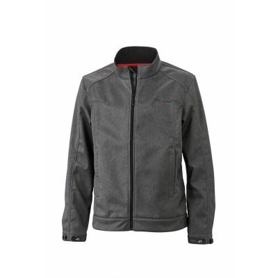 Soft shell Men's Softshell Jacket colore dark-melange taglia S