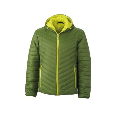 Giacche Men's Lightweight Jacket colore jungle-green/acid-yellow taglia S
