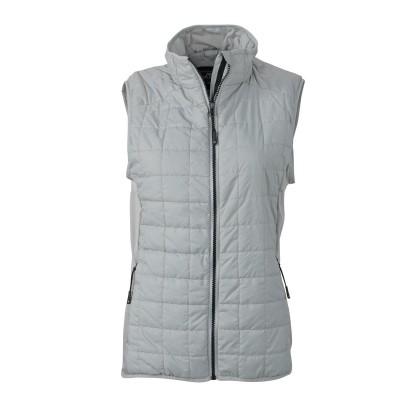 Giacche Ladies' Hybrid Vest colore silver/silver taglia S