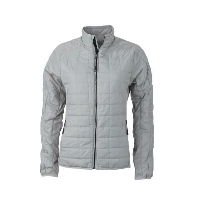 Giacche Ladies' Hybrid Jacket colore silver/silver taglia S