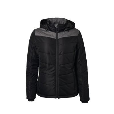 Giacche Ladies' Winter Jacket colore black/anthracite-melange taglia S