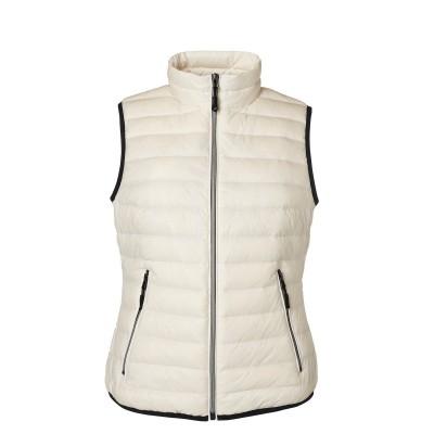 Giacche Ladies' Down Vest colore off-white/off-white taglia S