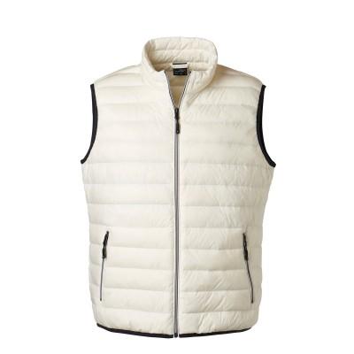 Giacche Men's Down Vest colore off-white/off-white taglia S