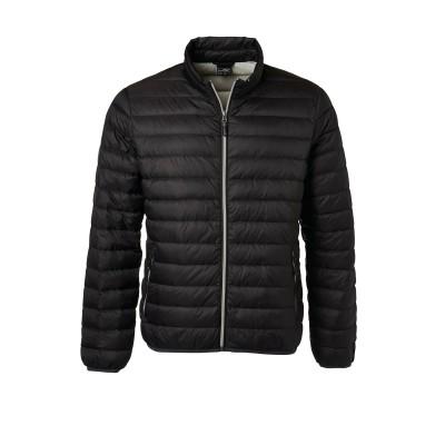 Giacche Men's Down Jacket colore black/silver taglia S