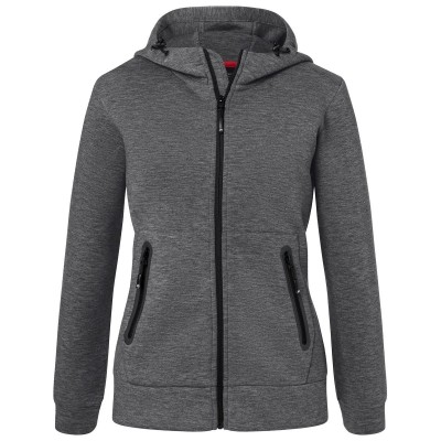 Giacche Ladies' Hooded Jacket colore dark-melange taglia XS