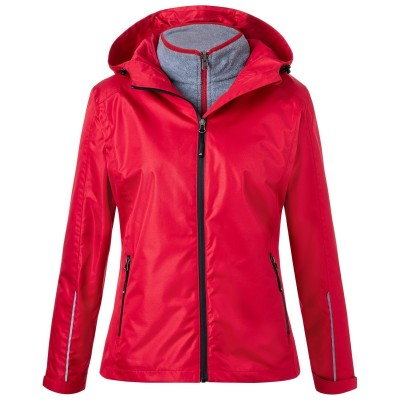 Giacche Ladies' 3-in-1-Jacket colore red/black taglia XS