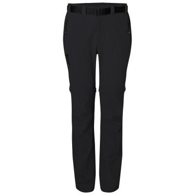 Pantaloni Ladies' Zip-Off Trekking Pants colore black taglia XS