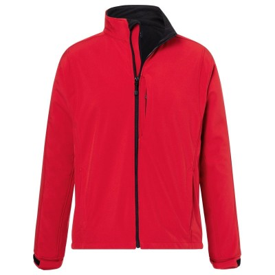 Soft shell Men's Softshell Jacket colore red taglia S