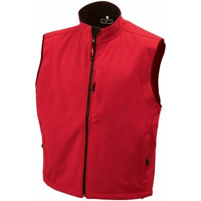 Soft shell Men's Softshell Vest colore red taglia S