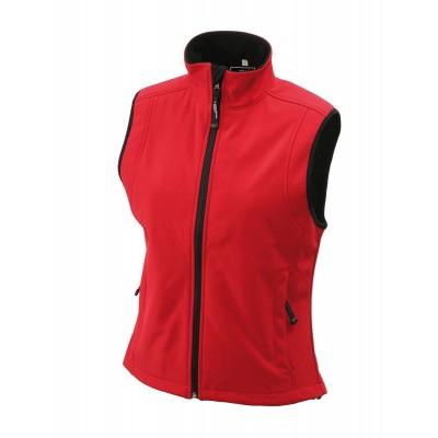 Soft shell Ladies' Softshell Vest colore red taglia S