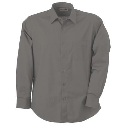 Camicie Men's Shirt Classic Fit Long colore cobalt/grey-heather taglia S