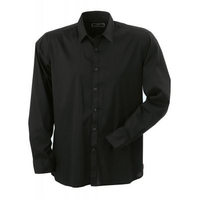 Camicie Men's Shirt Slim Fit Long colore black taglia S