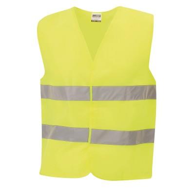 Giacche Safety Vest Junior colore fluorescent-yellow taglia UNICA